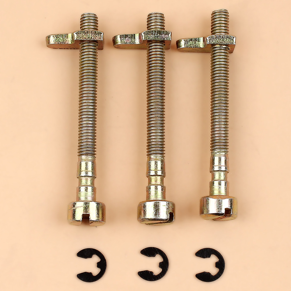 3Pcs/lot Chain Tensioner Adjuster Screw For McCulloch 335 338 435 436 438 440 441 442 444 Chainsaw Replacement Parts