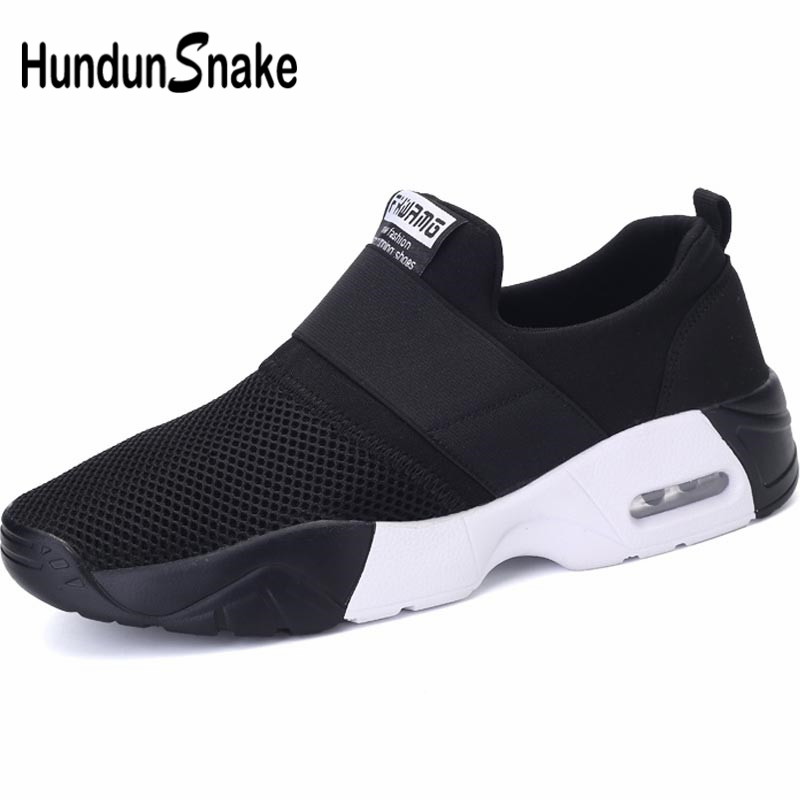 Hundunsnake Breathable Shoes Sport Women Running Shoes Women Air Shoes Summer Baskets Femme Sneakers Black Footwear Tennis B-034
