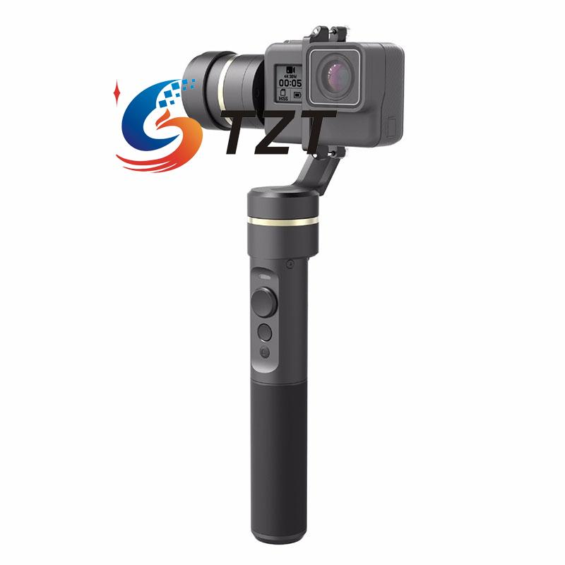 Feiyu G5 Handheld Gimbal Splash Proof 3 Axis Camera Stabilizer for GoPro Hero Action Cam [hk stock][official international version] xiaoyi yi 3 axis handheld gimbal stabilizer yi 4k action camera kit ambarella a9se75 sony imx377 12mp 155 degree 1400mah eis ldc sport camera black