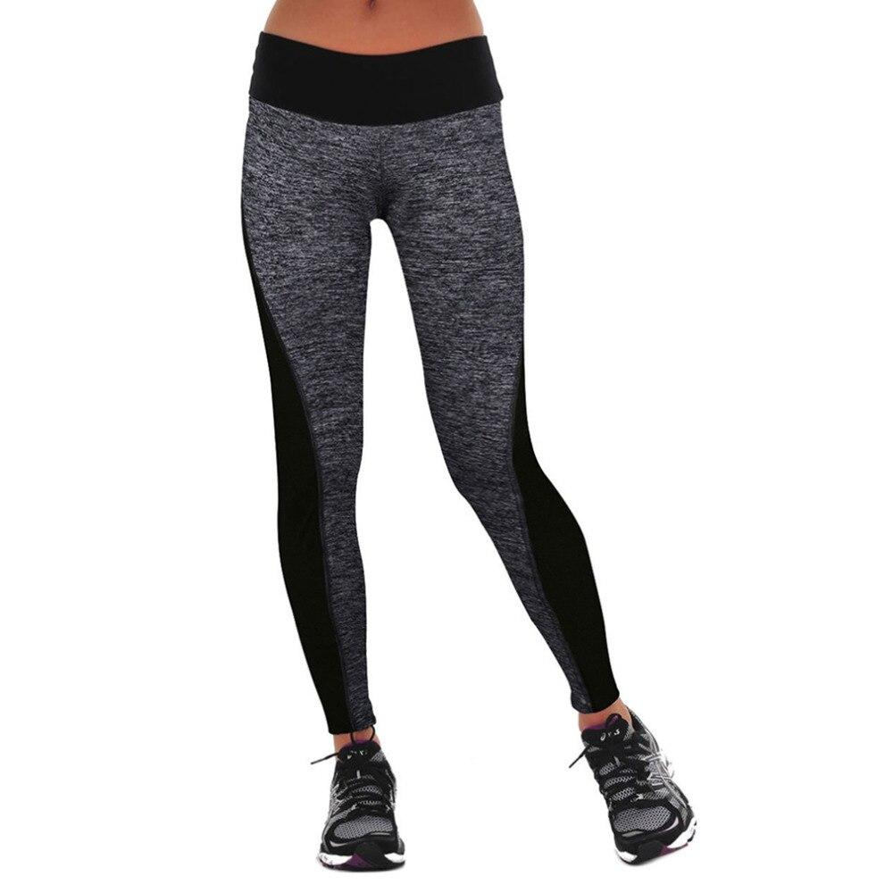 2017  Elastic Women Slimming Pants Leggings For Running/Yoga/Sports