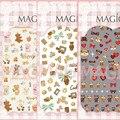 Ver detalle OSO LINDO 1-2-3 DISEÑOS Más Nuevos 1 P MAGICO serie del arte del clavo 3d pegatinas etiqueta del arte del clavo del arte del clavo stampingwholesale