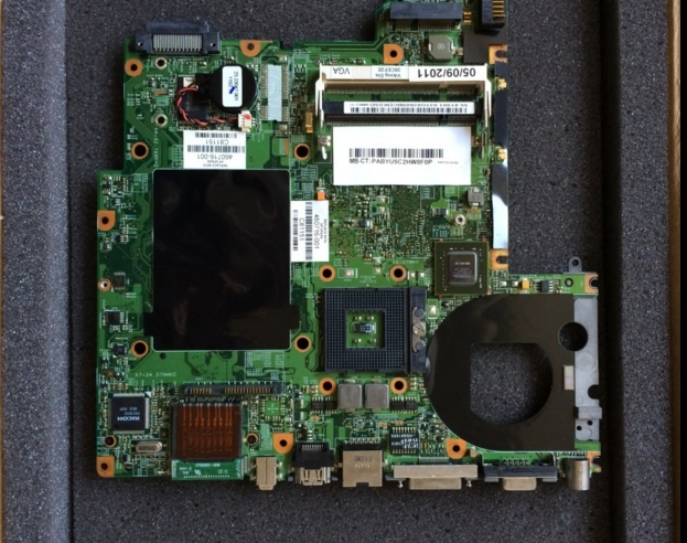 460716-001 lap DV2000 / V3000 965PM connect with printer motherboard full test   connect board 574680 001 1gb system board fit hp pavilion dv7 3089nr dv7 3000 series notebook pc motherboard 100% working