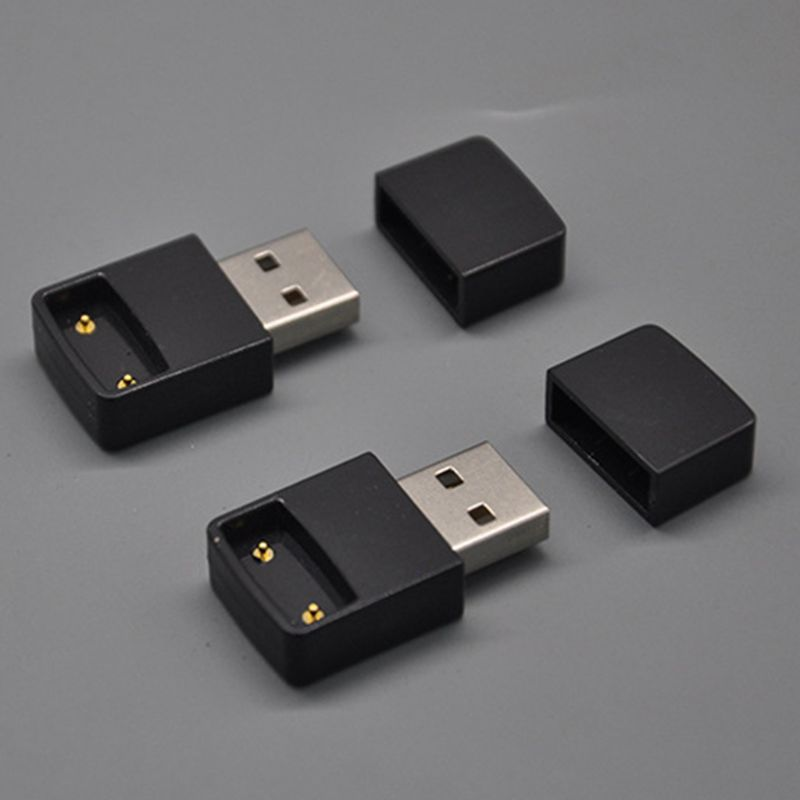 Portable Black USB Battery Charger Connection Charging Port For Juul Vape Electronic Cigarette Kit Tools