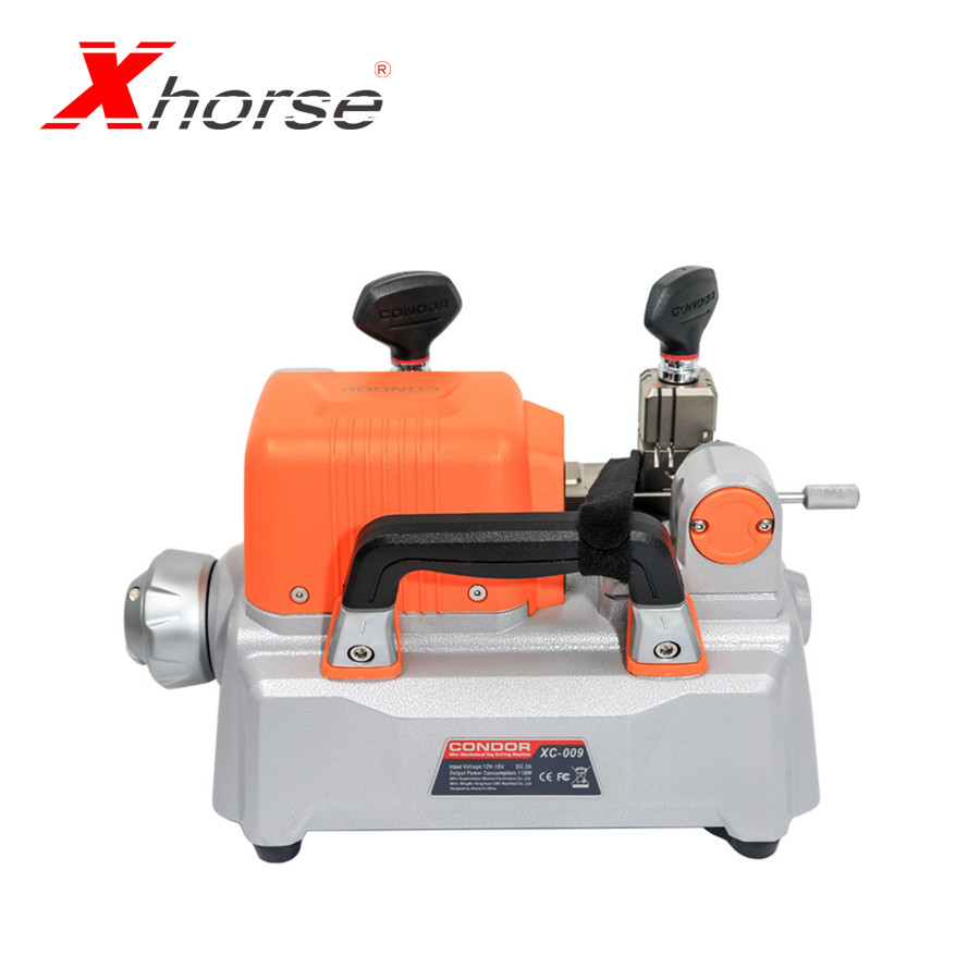 Xhorse Condor XC-009 Key Cutting Machine With Battery For Single-Sided And Double-sided Keys Cheaper Than XC-MINI Condor XC009