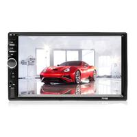7018B Universal Design FM Player Stereo Radio Car 7 Inch HD MP5 Touch Screen + Free Rear Camera Car Stereo Video MP5 Player