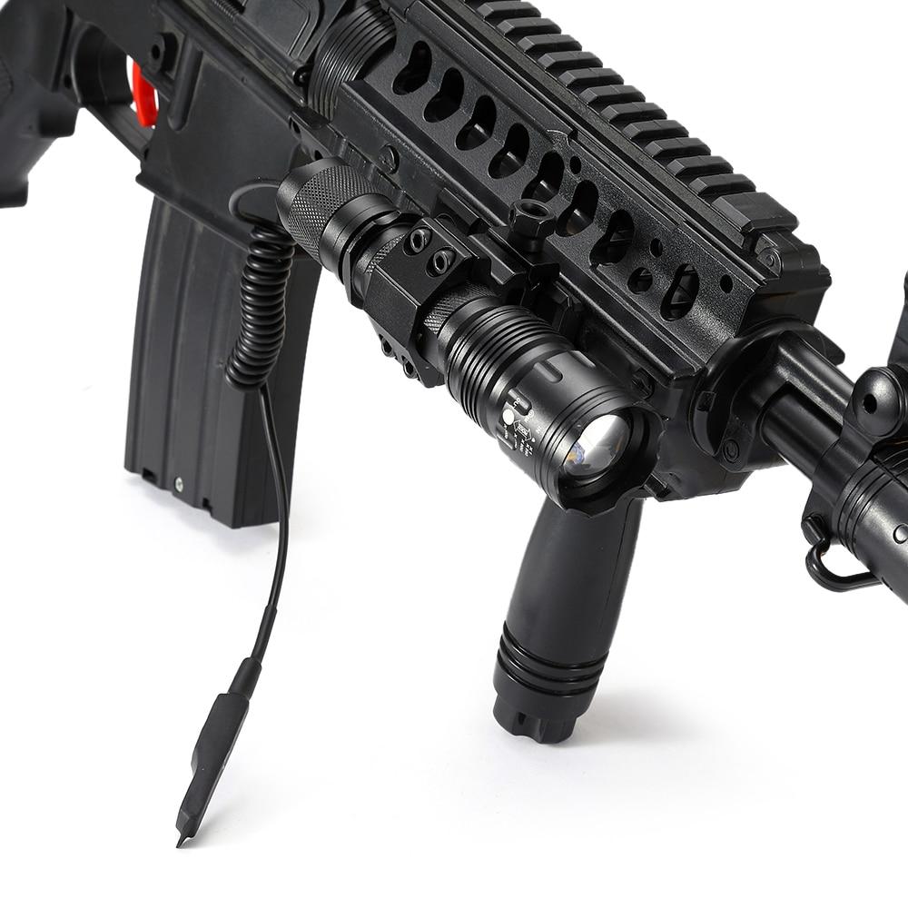 Image 4 - AloneFire TK104 CREE L2 светодиодный тактический Zoom пистолет вспышка светильник пистолет страйкбол фонарь светильник лампа для наружной охоты-in Фонарики и осветительные приборы from Лампы и освещение
