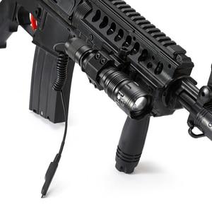 Image 4 - AloneFire TK104 CREE L2 светодиодный тактический зум пистолет, флэш светильник, пистолет, пистолет, страйкбол, фонарь светильник, лампа для охоты на открытом воздухе