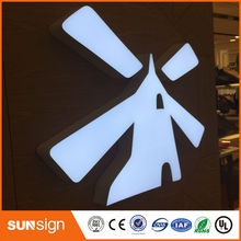 New ARRIVAL advertising mirror polished stainless steel LED letter sign