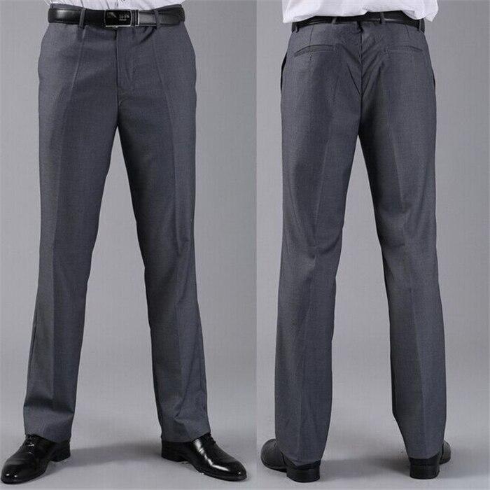 Мужские костюмные брюки модные свадебные формальные 12 цветов повседневные брюки известный бренд блейзер брюки Деловое платье брюки CBJ-H0284 - Цвет: slim dark grey