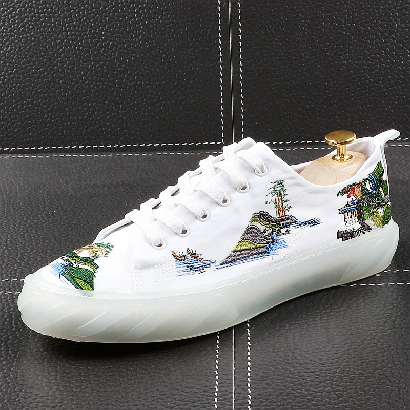 Panda Climbing Women/¡s Casual Shoes Sneakers Canvas Athletic Print Comfortable
