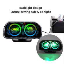 car equalizer Compass auto Inclinometer Car Adjustable Balance Meter Balancing Instrument Gauges Pitching Rollin
