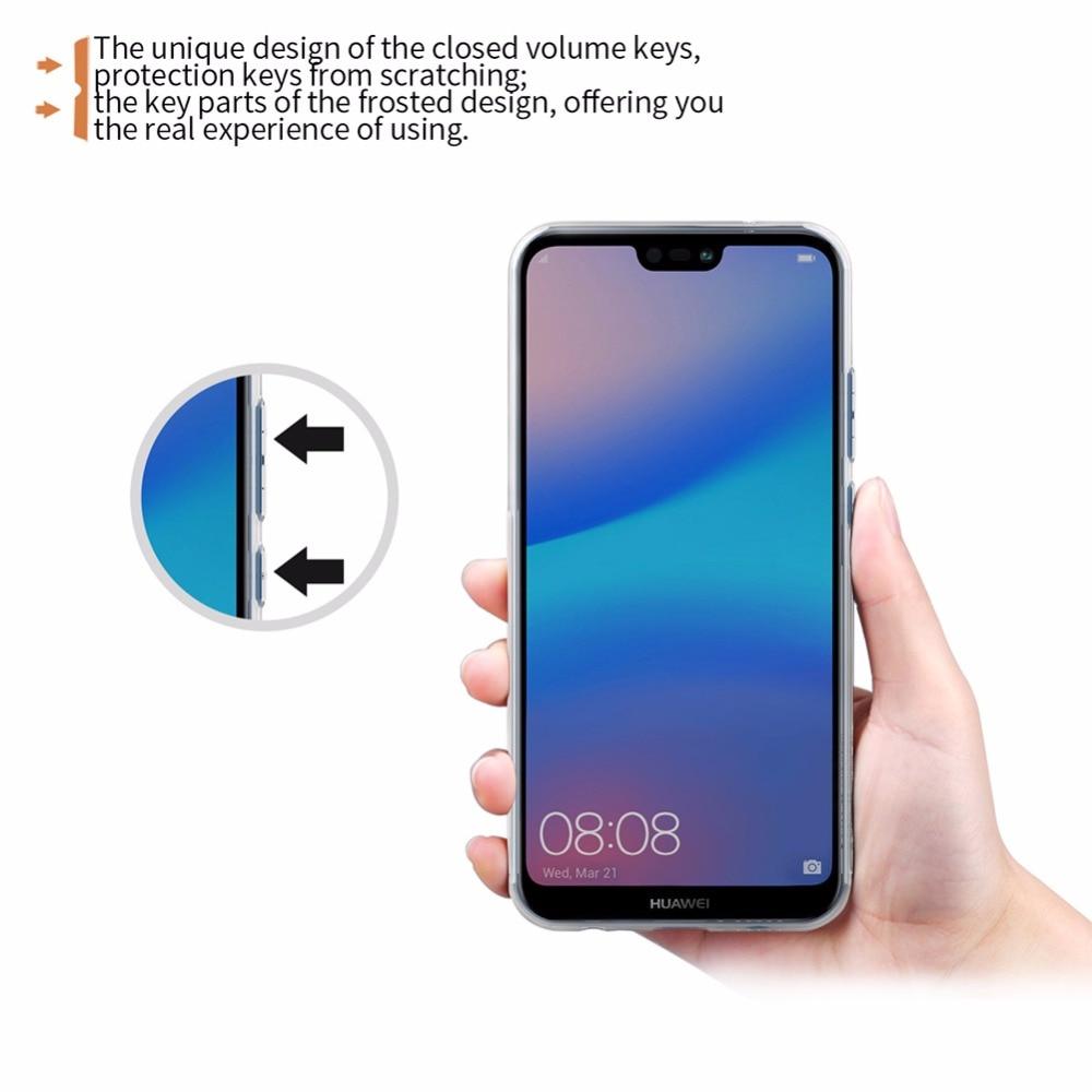 Θήκη Huawei P20 lite κάλυψη Θήκη NILLKIN TPU Για - Ανταλλακτικά και αξεσουάρ κινητών τηλεφώνων - Φωτογραφία 3