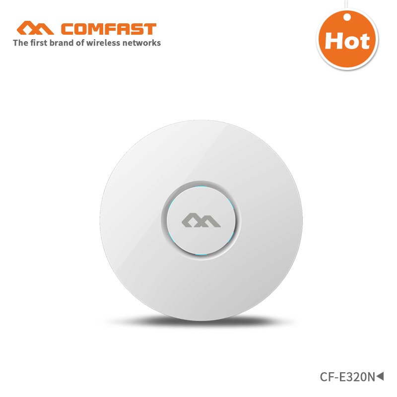 COMFAST wireless Ap CF-E320N Ceiling AP 802.11b/g/n wireless router Indoor AP 300Mbps WiFi Access Point AP for wifi coverage tuffstuff ap 71lp