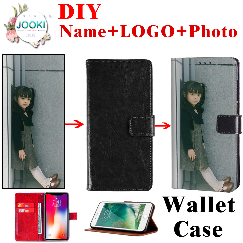 Cover For <font><b>Nokia</b></font> 2 3 4.2 5 6 7 8 Wallet Leather Pouch <font><b>Case</b></font> For <font><b>Nokia</b></font> 1 plus 2.1 3.1 5.1 <font><b>6.1</b></font> Flip Print Cover DIY Customized <font><b>Case</b></font> image