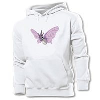 6e13883f1 Women Hoodie Pokemon National Pokedex 015 Bug Poison Beedrill 049 Venomoth  Bee Butterfly Graphic Pullover Girl