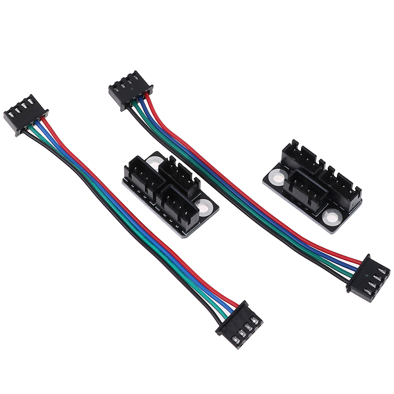 4pcs/2sets Dual Z Stepper Motor Adapter Parallel Module Stepping Motor Diverter Expanding Flow Board Diffuser Spreader Splitter