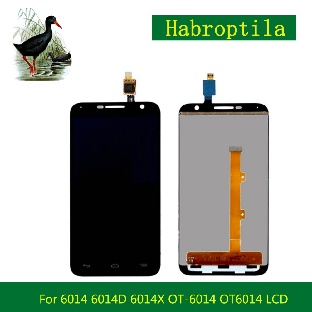 High quality For Alcatel 6014 6014D 6014X OT-6014 OT6014 LCD Display Screen With Touch Screen Digitizer Assembly