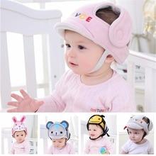 Детская Мягкая шапка для защиты головы, шлем для защиты от столкновений, защитный шлем для спорта и игр, защитные хлопковые шапки, скидка 20