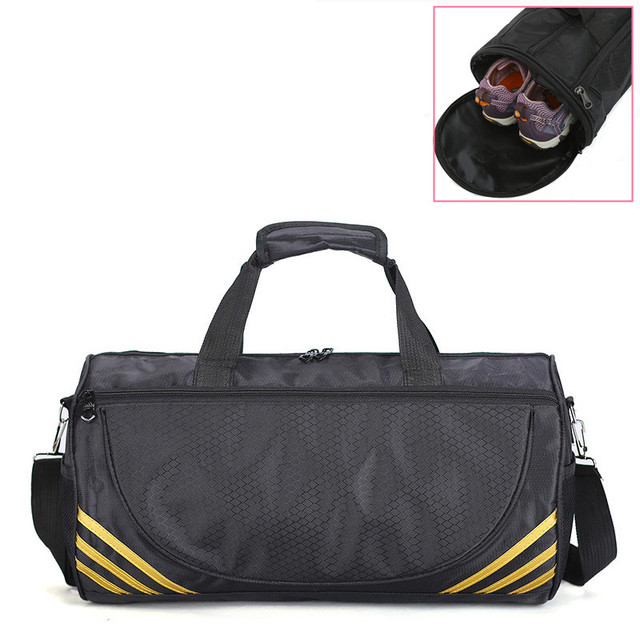 Cheap Sports Gym Bag Women Men Fitness For Yoga Nylon Sport Travel Training Ultralight Duffle Shoes Small Sac De Sport Bag