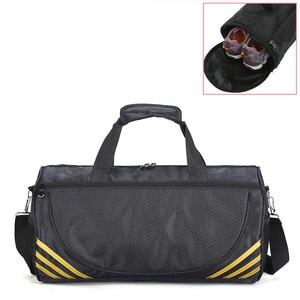 Image 1 - Ucuz spor spor çanta kadın erkek spor Yoga için naylon spor seyahat eğitim Ultralight spor ayakkabı küçük Sac De spor çantası