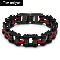 Trade Heat Sell Stainless Steel Locomotive Bracelet Titanium Steel Bicycle Bracelet Three Layers Colour Exquisite Hand