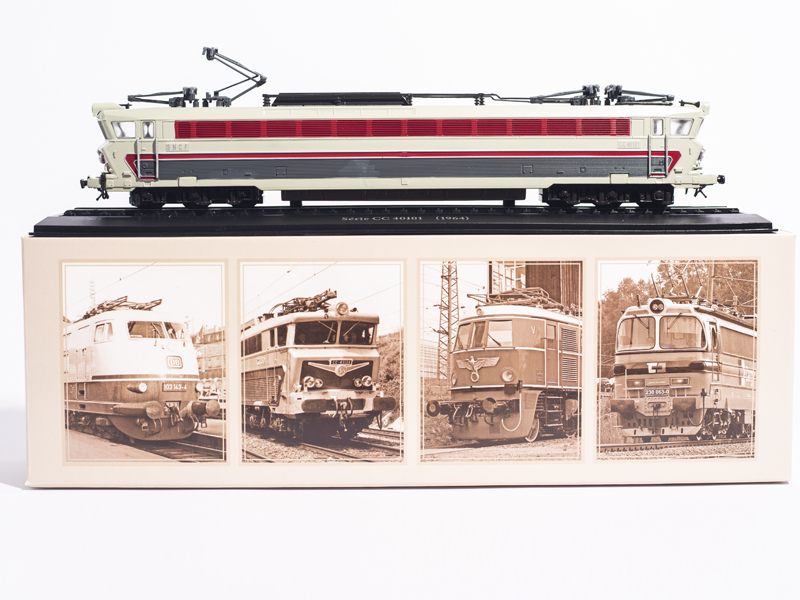 1 87 Train Model EDITIONS ATLAS 1 87 HO Serie CC 40101 1964