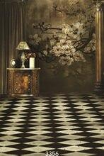 Fond สตูดิโอถ่ายภาพฉากหลัง Prop ในร่ม Vintage ดอกไม้ไวนิลภาพพื้นหลังสำหรับ Photo Studio สำหรับงานแต่งงานเด็ก