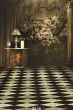 Fond Studio Fotografie Achtergronden Prop Indoor Vintage Bloemen Muur Vinyl Foto Achtergronden voor Fotostudio voor Bruiloft Kinderen