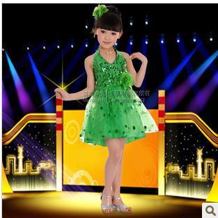 Çocuk Bayramı Çocuk Giyim modern kızların performans giyim - Dans Kıyafetleri ve Sahne Kostümleri - Fotoğraf 3