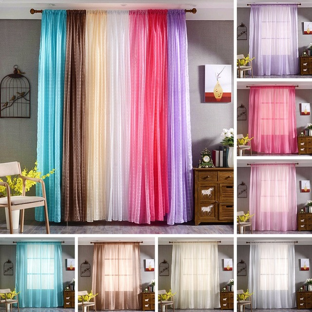Fashion Style Decorative Curtains Kitchen Curtains Window Living ...