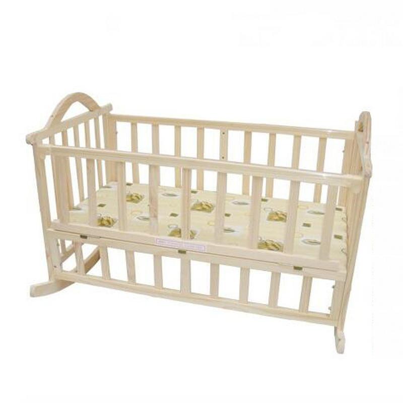 Baby Schommel Bed.Geen Straling Elektrische Rockende Babybed Baby Schommel Grenen