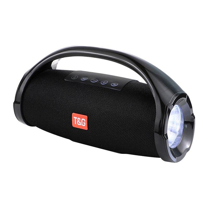 Sans fil 10 w Bluetooth 4.2 haut-parleur colonne vibrant Portable haute puissance Bluetooth haut-parleurs Boombox étanche haut-parleurs avec Fm