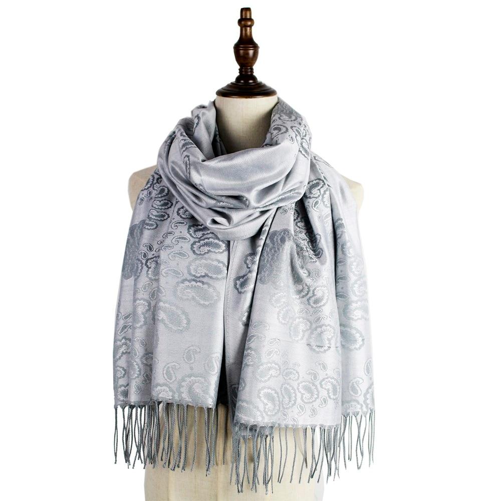 tippet   scarf   women woven shawl fashion capes   scarf   jacquard pashmina winter kashmir paisley hijab femme muffler stole mujer   wrap