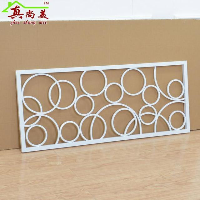 European Style Fencing, Wrought Iron Stair Handrail, Attic Corridor Railing  Screen Partition Villa