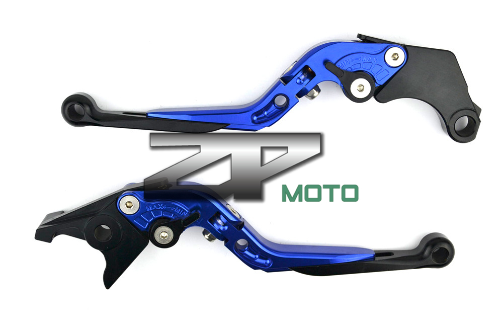 Adjustable Folding Extendable Brake Clutch Levers For Kawasaki Z1000SX/Ninja 1000 2011-2012 8 Colors
