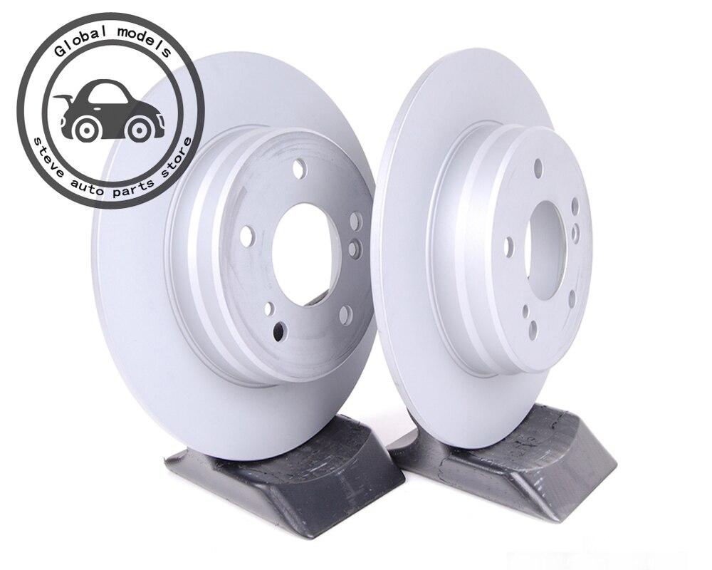 Arrière De Frein Rotors disque de frein pour Mercedes Benz W202 C160 C180 C200 C220 C230 C240 C270 C280 C320 C350 C55 A2104210712