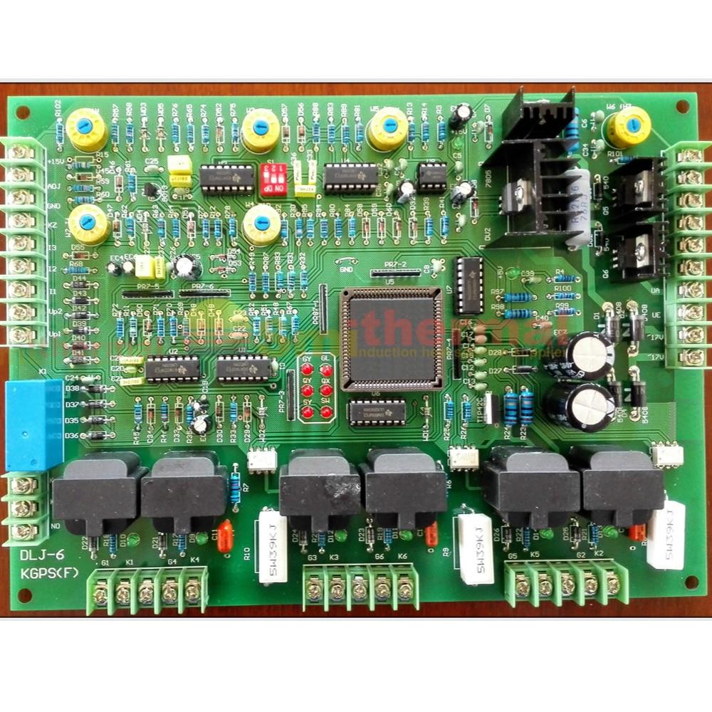 DLJ-6 KGPS(F) Mid Frequency induction heat cast furnace Main Control card board