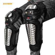 WOSAWE Stainless Steel Knee Protector Motorcycles Armor Downhill Protective Gear Guards Motocross Snowboard mtb Protection