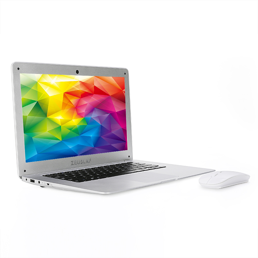 ZEUSLAP 14inch 8gb ram 128gb ssd 1tb hdd Intel Pentium win10 1920X1080P FHD cheap Notebook Computer pc Netbook Laptop