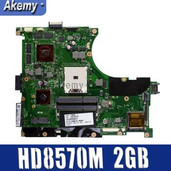 N56DY Laptop motherboard  For ASUS N56D N56DP N56DY R501DY N56DYA mainboard HD 8570M HD8570M 2GB Graphic