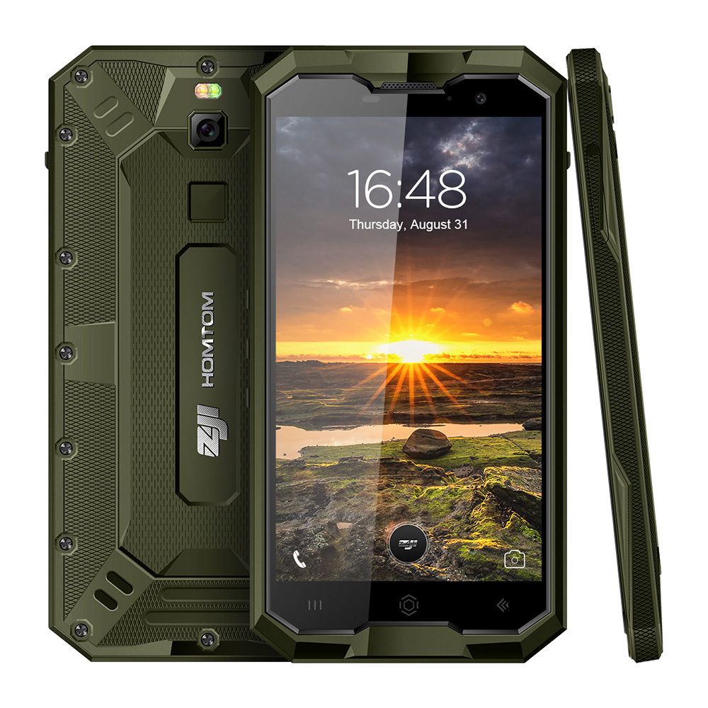 HOMTOM ZOJI Z8 4G Smartphone 5.0 inch Android 7.0 MTK6750 Octa Core 1.5GHz 4GB RAM 64GB ROM IP68 Waterproof Fingerprint