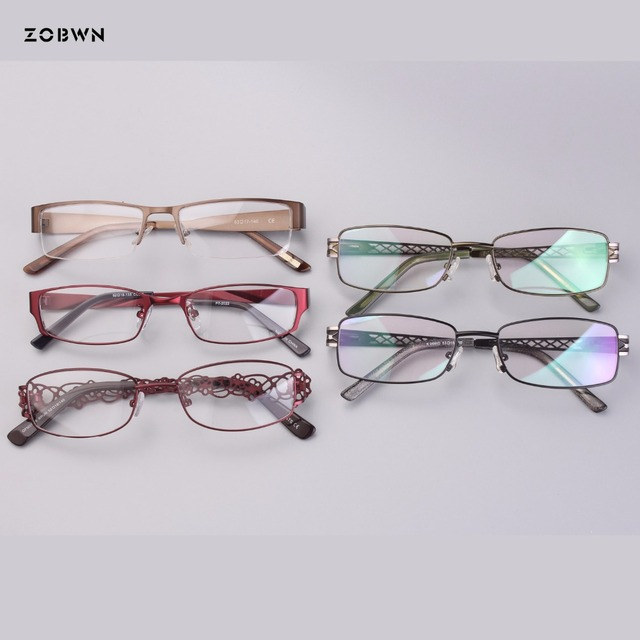 16a1631d1d8 Mix wholesale classic models and colors optical frames women man gafa Fashion  Brand Designer quadros spectacles