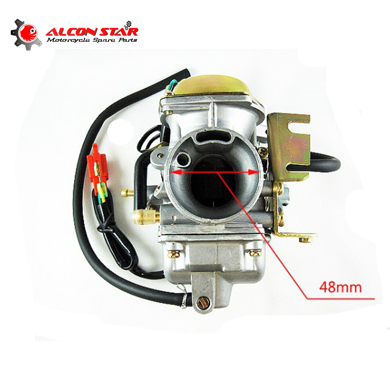 Alconstar Perfect Performance Motocycle Carburetor PD30J for GY6 250 CF250 CF CH CN250 Scooter ATV UTV
