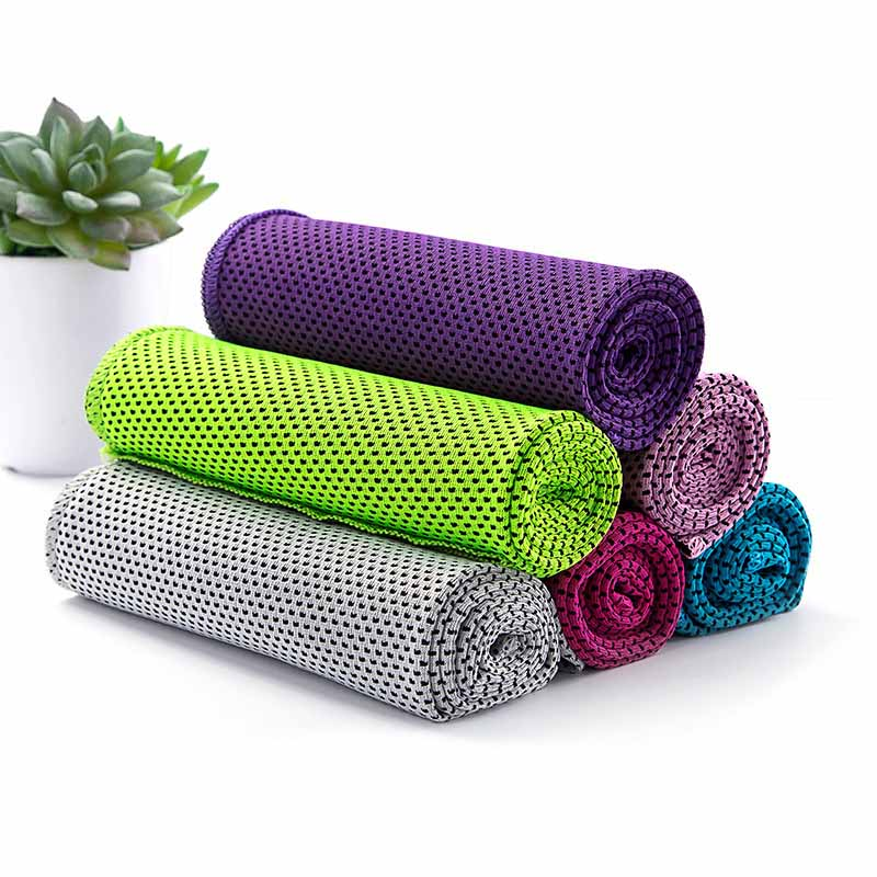 Summer Outdoor Sports Towel Ice Cold Towel Scarf Running Yoga Travel Gym Camping Golf Workout Cooling Towel Chilling Neck Wrap
