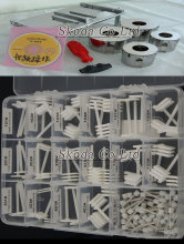 New PC hard disk open repair tools 90 pcs/set head replacement tool+hard disk open tool for 2.5 and 3.5 inch SAS SCSY
