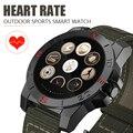 Desporto ao ar livre relógio samrt 2017 Sono Aptidão heart rate monitor termômetro Altímetro barômetro bússola smartwatch android ios