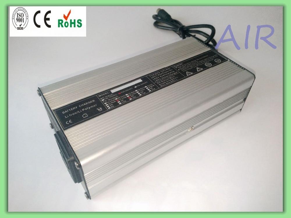 120W 36V/37V (42V) 2.5A Electric Bike Charger for 10S Li-ion/Lipo Batteries