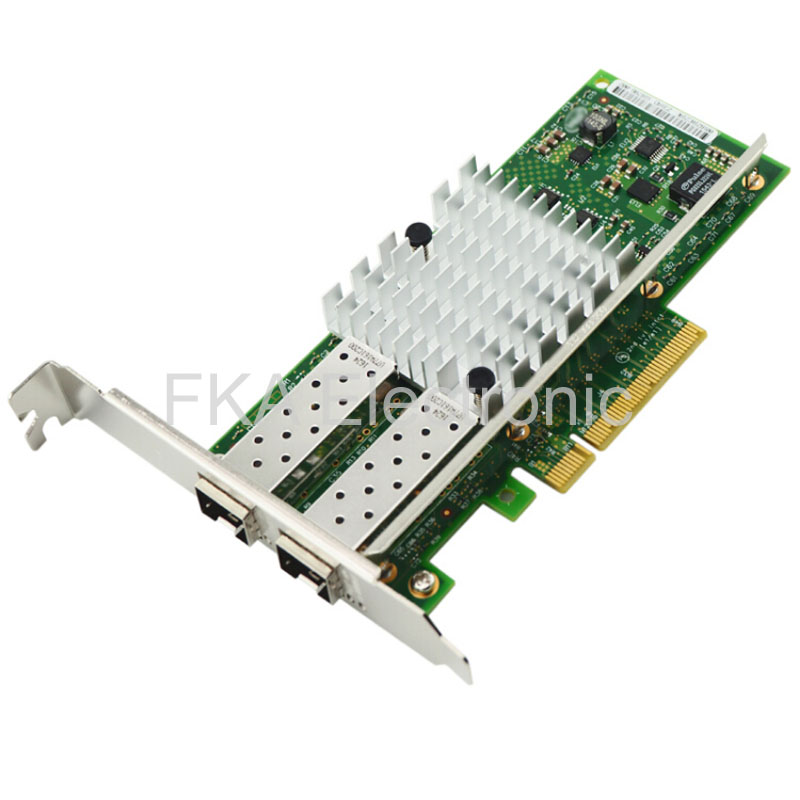 Intel 10Gbps Dual Port PCI-E X520-DA2 E10G42BTDA Ethernet Server Adapter US