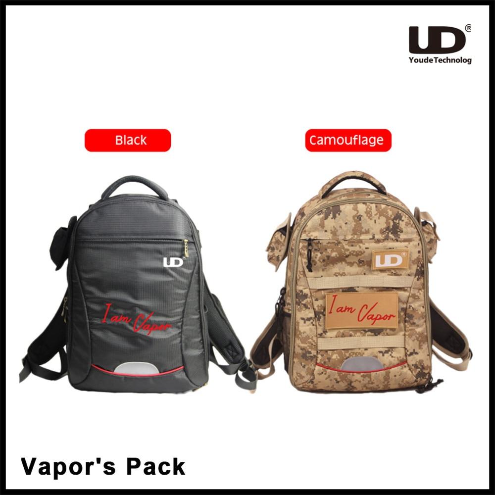 Original UD Vapers Pack Multifunctional Backpack for Electronic Cigarette Youde Vapors Travellers Bag High Quality Vape Pack цена