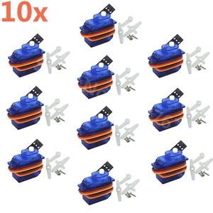 Image 2 - 10 pièces SG 50 5g Mini/Micro servomoteur numérique pour RC à distance avion voiture hélicoptères avion bateau Trex SG50